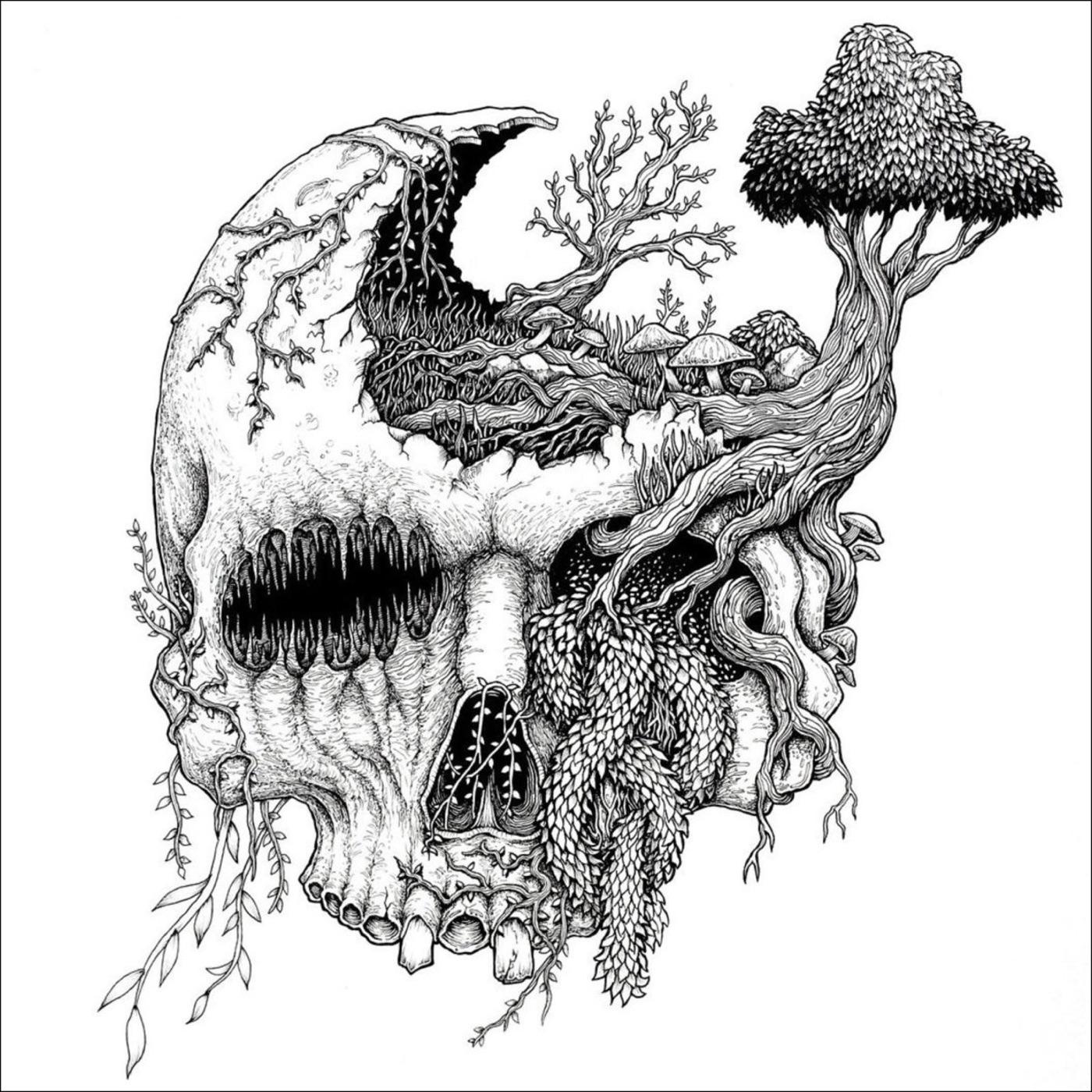 Moss Upon The Skull - In Vengeful Reverence (2018)