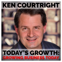 Podcast cover art for Ken Courtright: Today's Growth | Growing Business Today, Marketing your business for growth and success