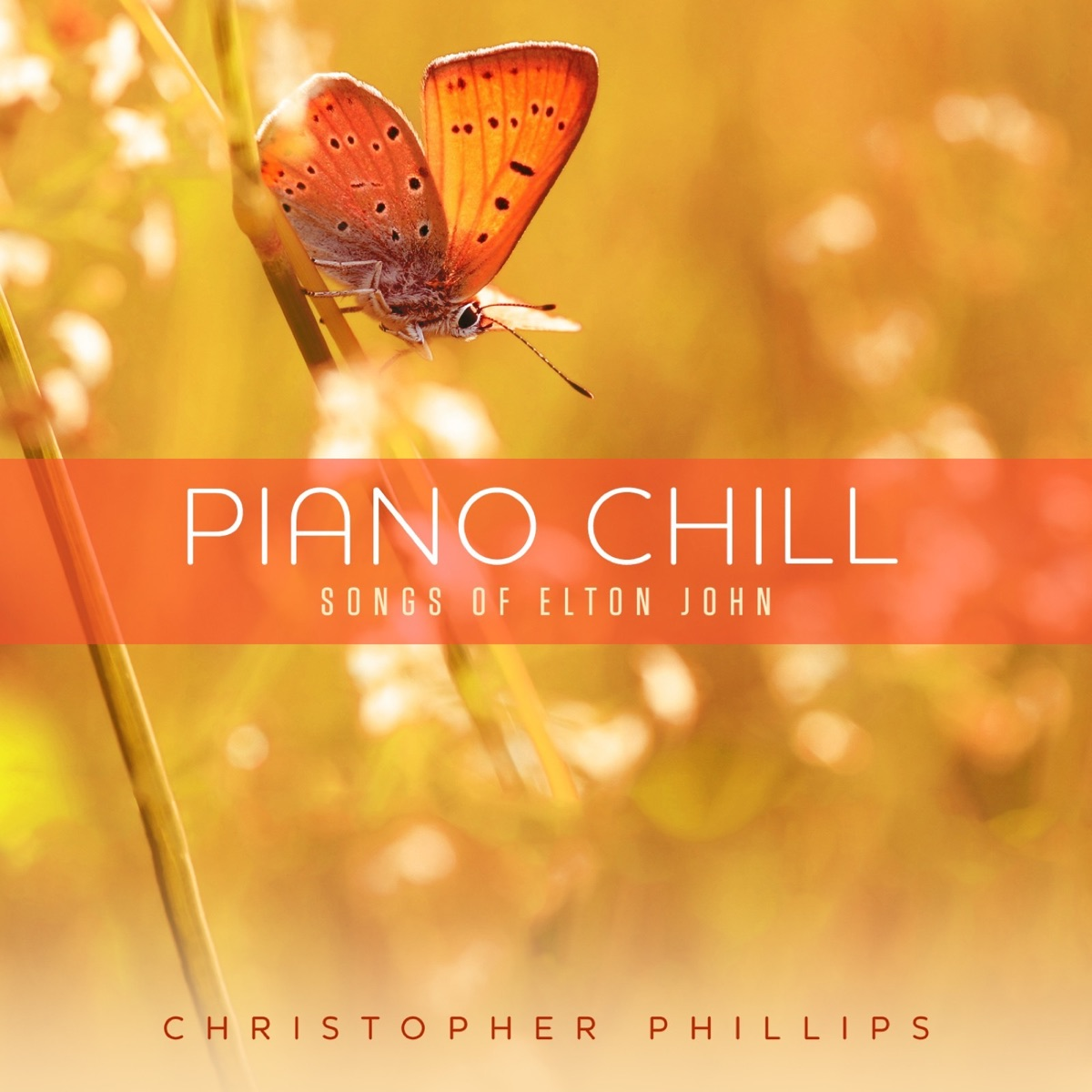 Piano Chill Songs of Elton John Christopher Phillips CD cover