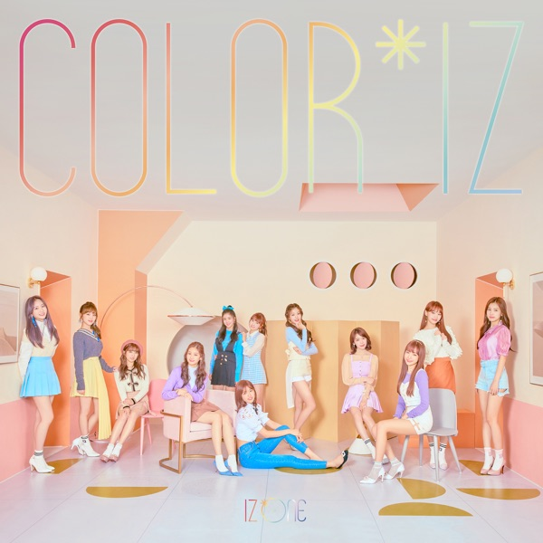 COLOR*IZ IZ*ONE album cover