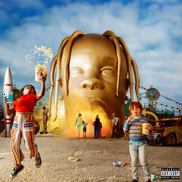 ASTROWORLD Travis Scott album cover