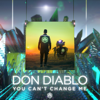 Don Diablo - You Can't Change Me artwork