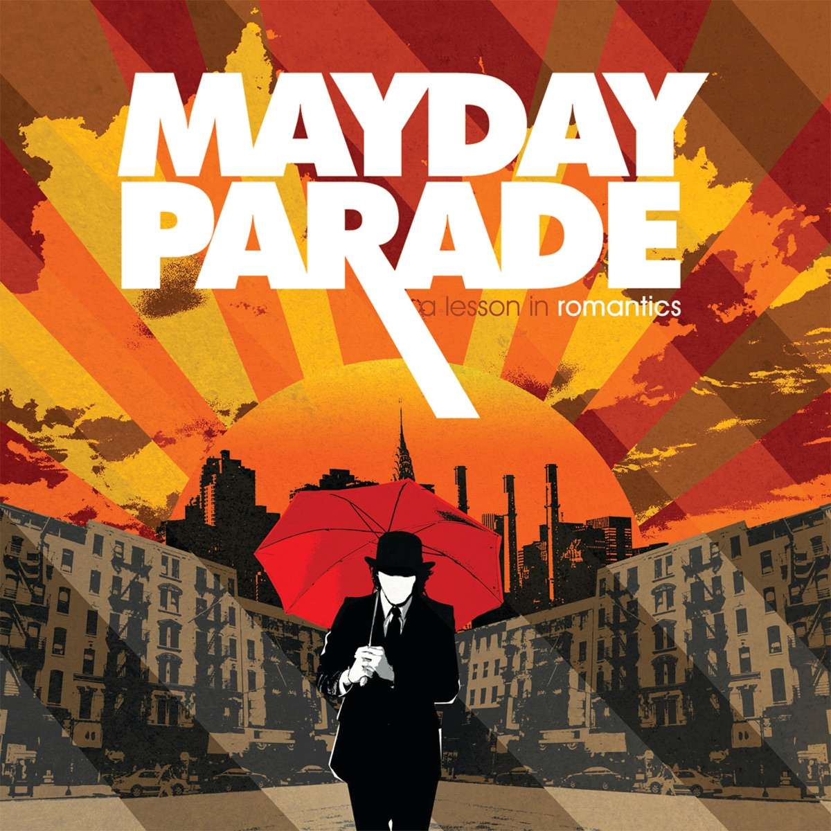 A Lesson in Romantics Mayday Parade CD cover