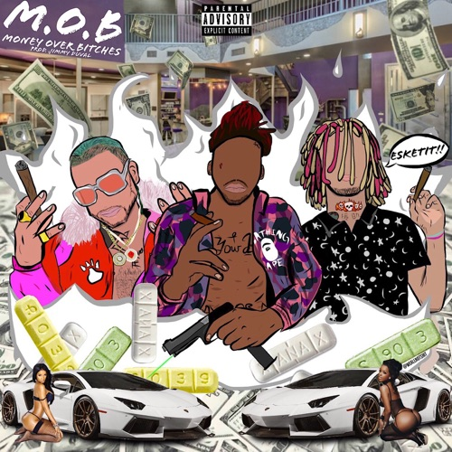 Splash Zanotti - M.O.B. (feat. Lil Pump & Riff Raff) - Single