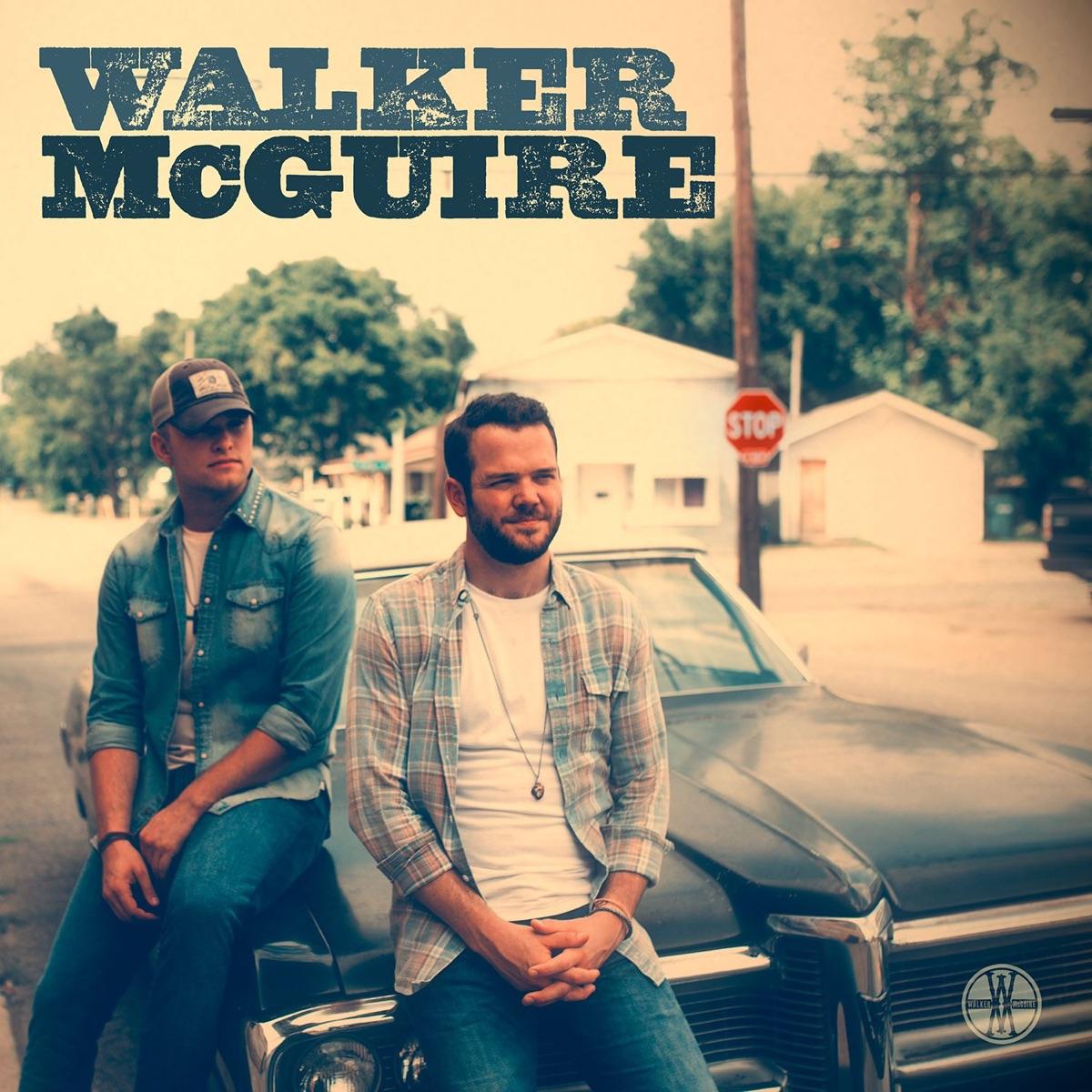 Walker McGuire - EP Walker McGuire CD cover