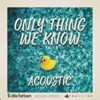 Only Thing We Know (Acoustic) - Single
