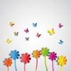The May flower - devo blue