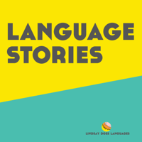 Podcast cover art for Language Stories