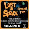 Lost in Space Vol 5 Wild Adventure The Girl from the Green Dimension The Space Vikings Television Soundtrack