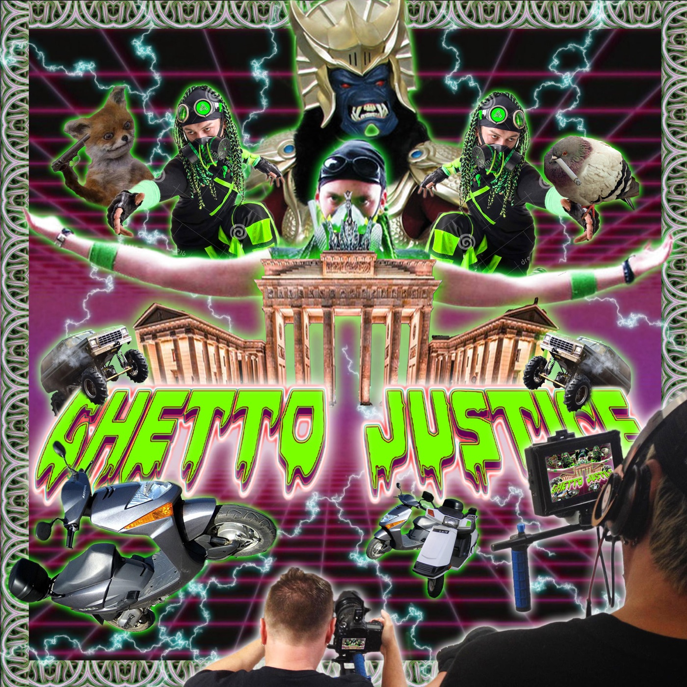 Ghetto Justice - Easy Living & Exzess (2018)