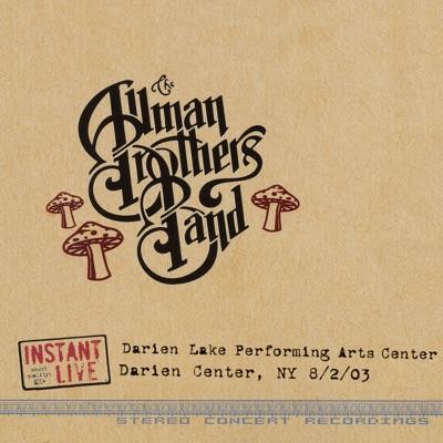 Darien Center, NY 8-2-03 - The Allman Brothers Band