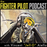 Podcast cover art for The Fighter Pilot Podcast