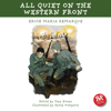 Erich Maria Remarque & Tony Evans - All Quiet on the Western Front  artwork