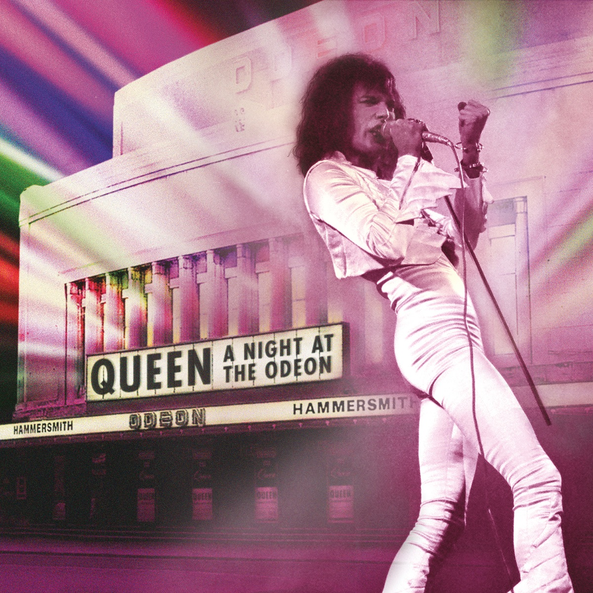 A Night at the Odeon Live Queen CD cover