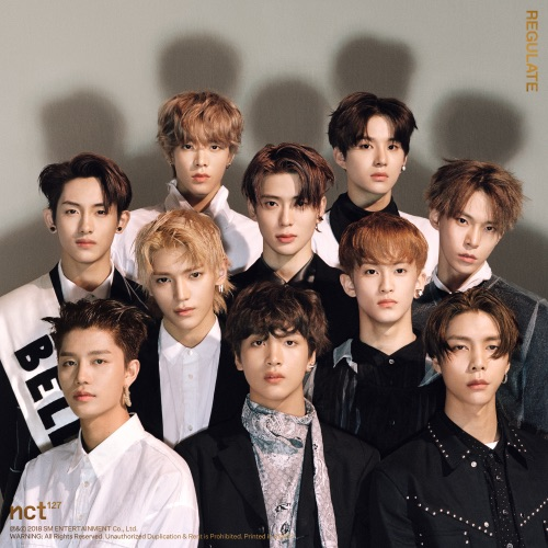 NCT 127 - NCT #127 Regulate - The 1st Album Repackage