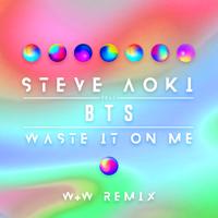 Steve Aoki - Waste It on Me (feat. BTS) [W&W Remix] artwork