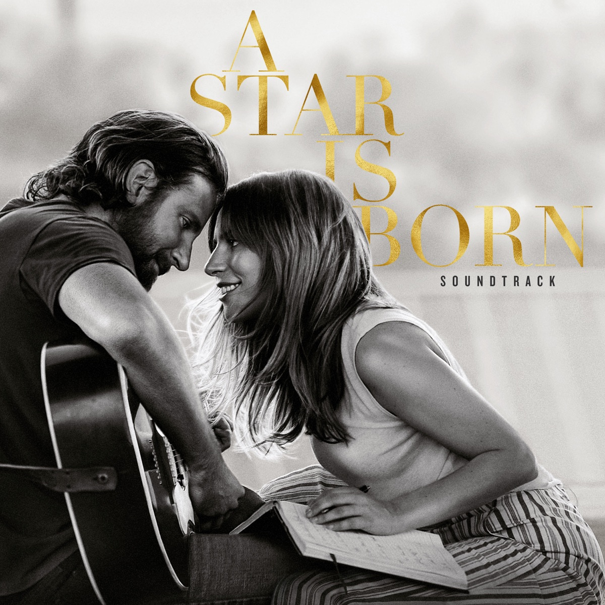 A Star Is Born Soundtrack Lady Gaga  Bradley Cooper CD cover