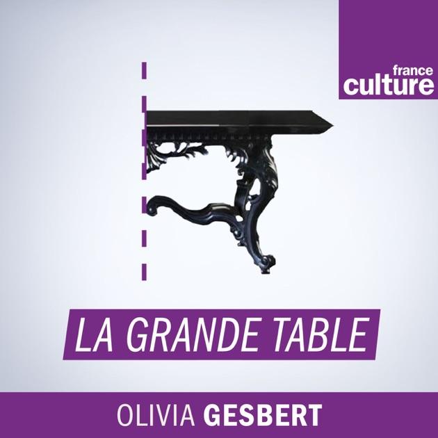 La grande table par france culture sur apple podcasts - La grande table france culture ...
