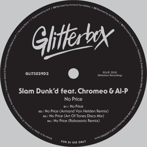 Slam Dunk'd - No Price (feat. Chromeo & Al-P) - EP