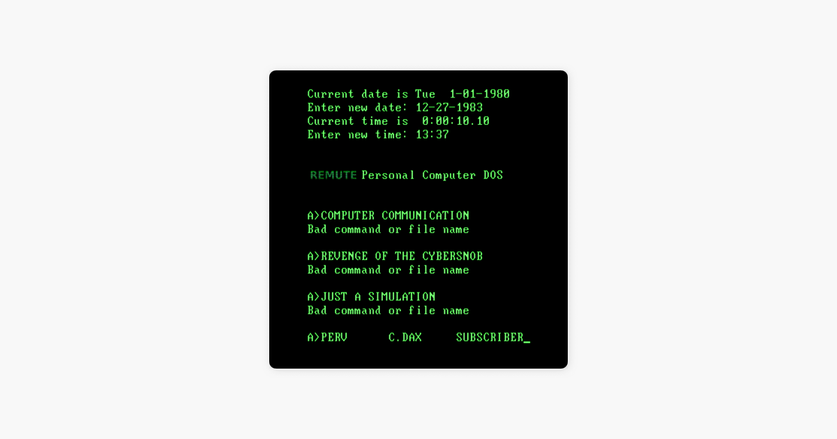 Computer Communication - EP by Remute