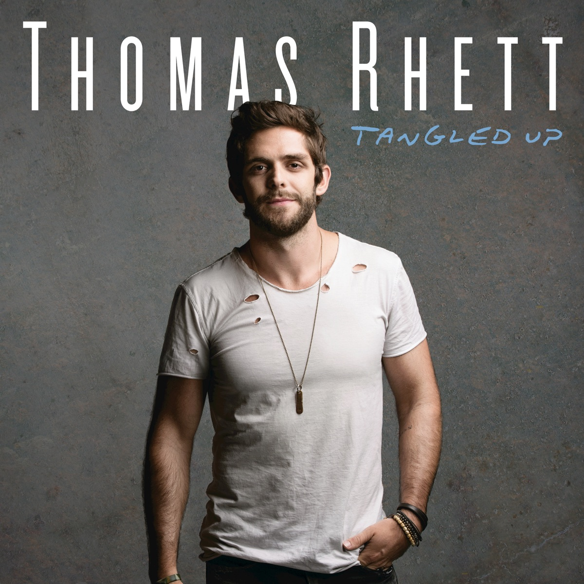 Tangled Up Thomas Rhett CD cover