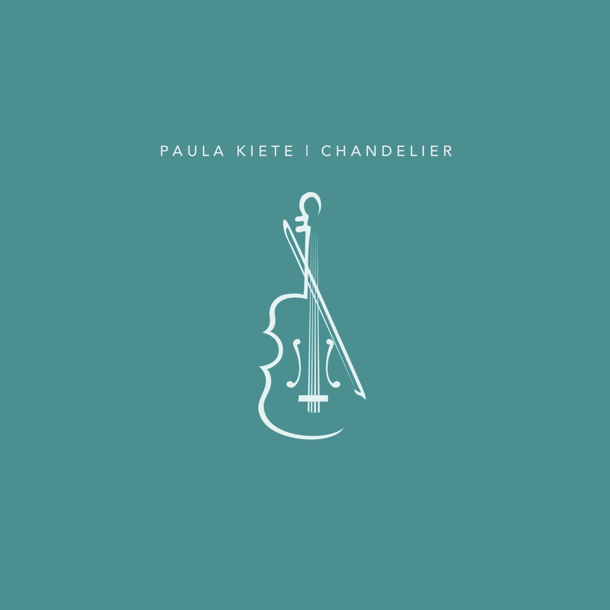 Chandelier - Single Paula Kiete CD cover