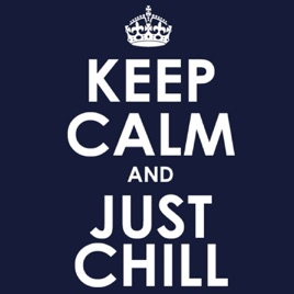 chill pillの keep calm and just chill をapple musicで