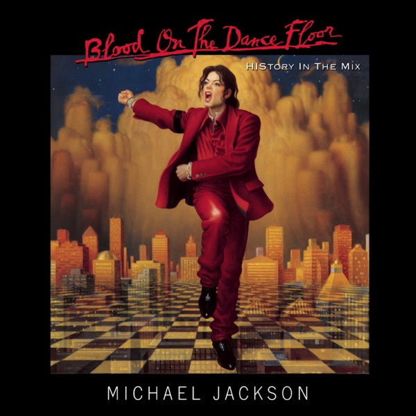 Michael Jackson mit Blood On the Dance Floor