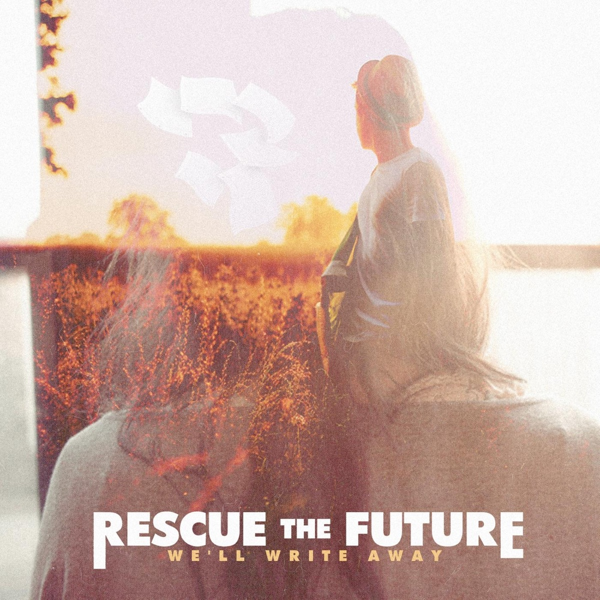 Well Write Away - EP Rescue the Future CD cover