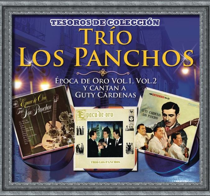 Resultado de imagen para Tesoros De Colección - Trío Los Panchos La Época de Oro Vol. 1 y 2 y Cantan a Guty Cárdenas