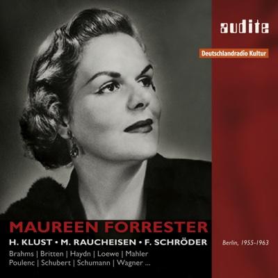 Portrait Maureen Forrester - Maureen Forrester, Hertha Klust, Michael Raucheisen & Felix Schröder album
