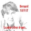 La poésie à fleur de mots - Bernard Sauvat