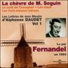 Alphonse Daudet - La chèvre de M. Seguin / Le curé de Cucugnan / Les vieux / Les trois messes basses (Les Lettres de mon Moulin 1) artwork