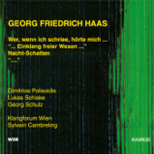 Georg Friedrich Haas: Chamber Music
