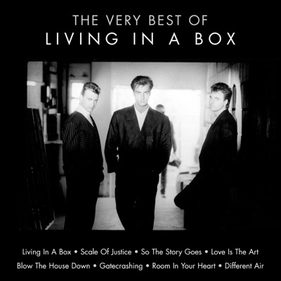 Cover art for Living In A Box
