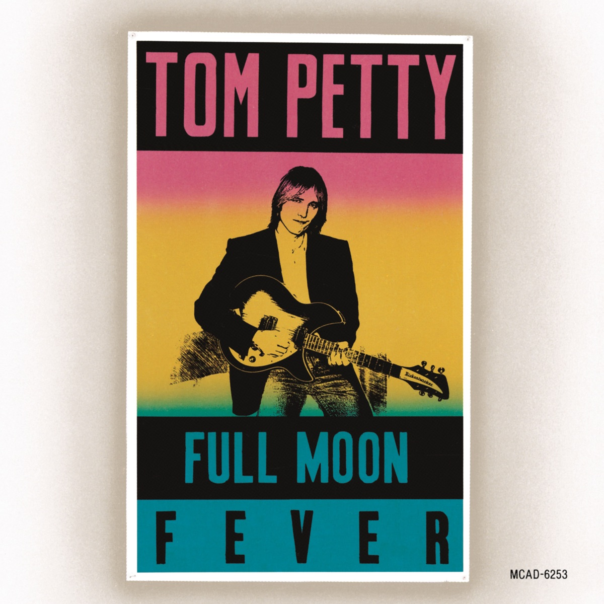 Full Moon Fever Tom Petty CD cover