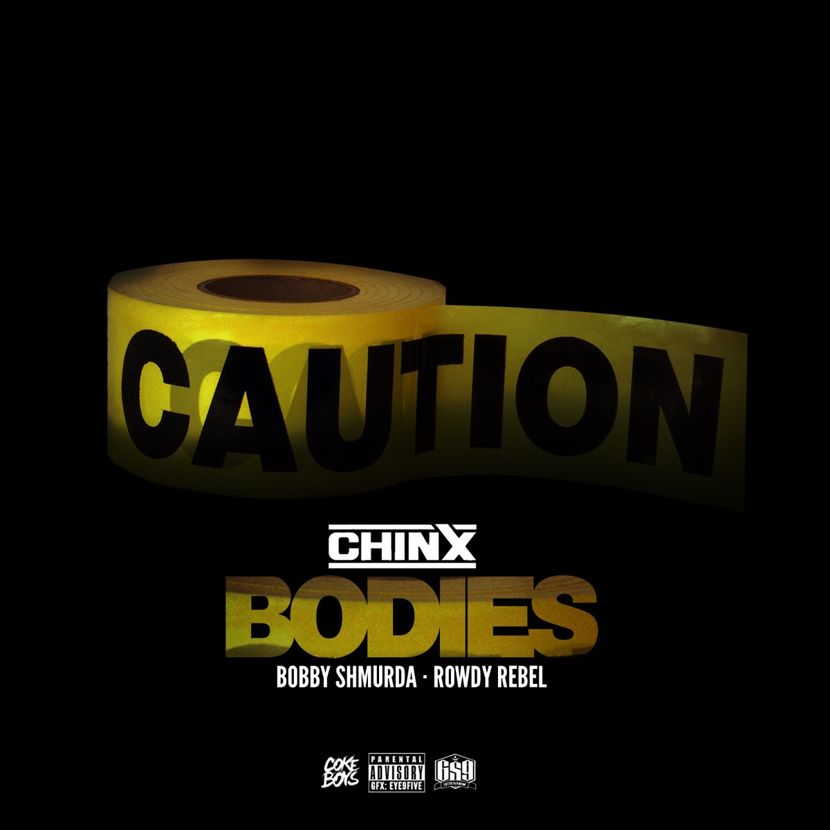 Bodies Album Cover by Chinx