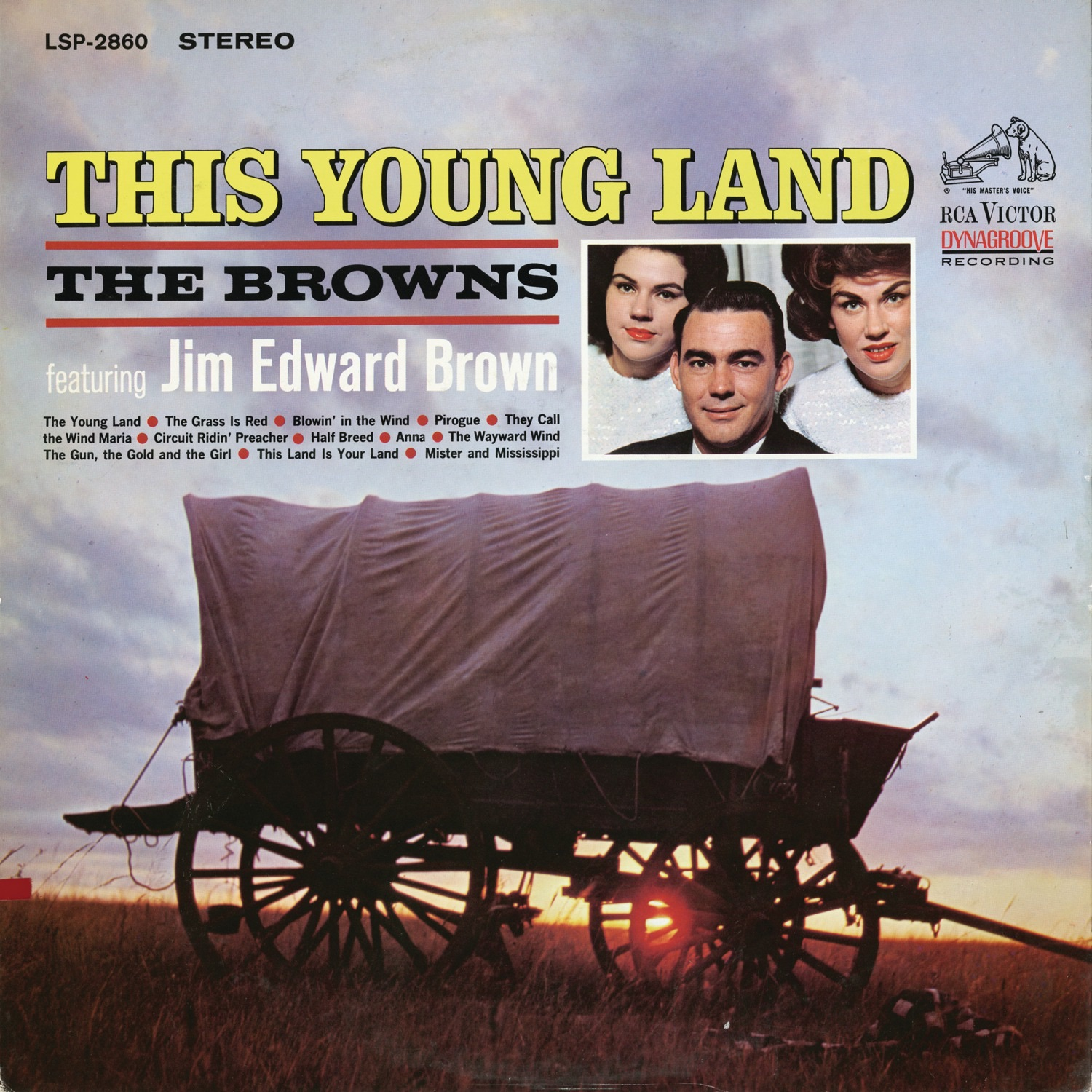 The Young Land (feat. Jim Edward Brown)