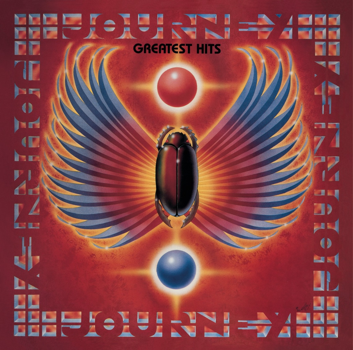 Greatest Hits Journey CD cover
