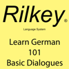 Paul Beck - Learn German: 101 Basic Dialogues (Unabridged)  artwork