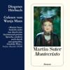 Martin Suter - Montecristo artwork