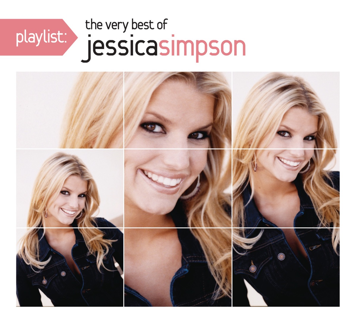 Playlist: The Very Best of Jessica Simpson Album Cover by Jessica ...