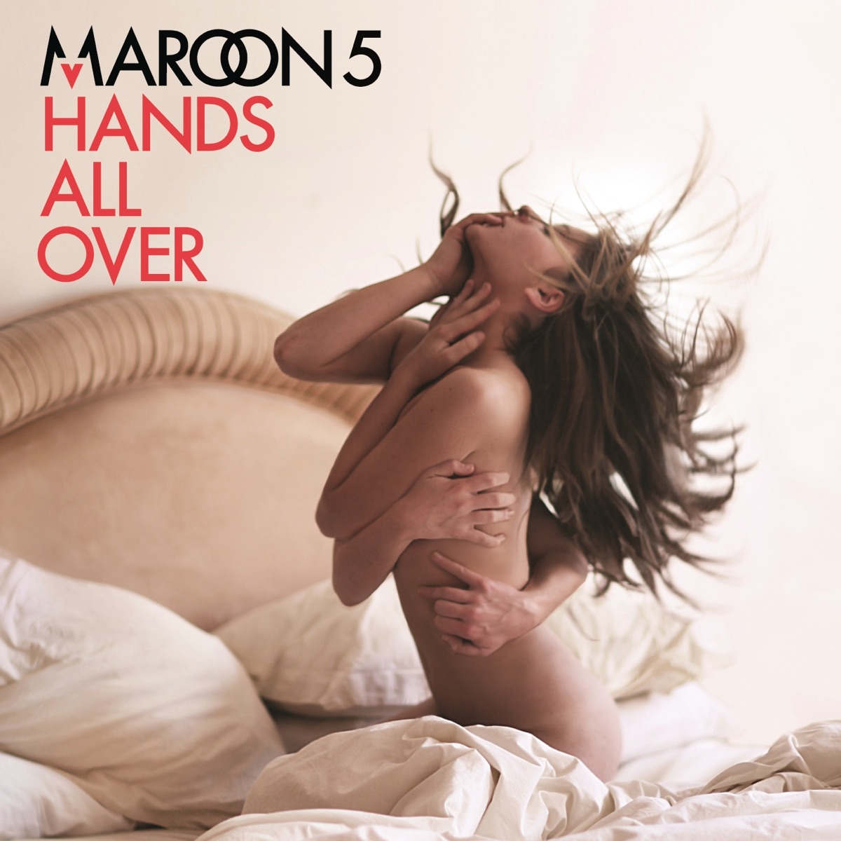 Hands All Over Deluxe Edition Maroon 5 CD cover