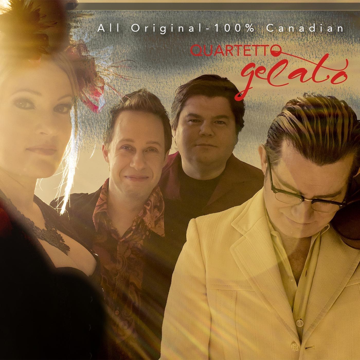 Quartetto Gelato: All Original, 100% Canadian