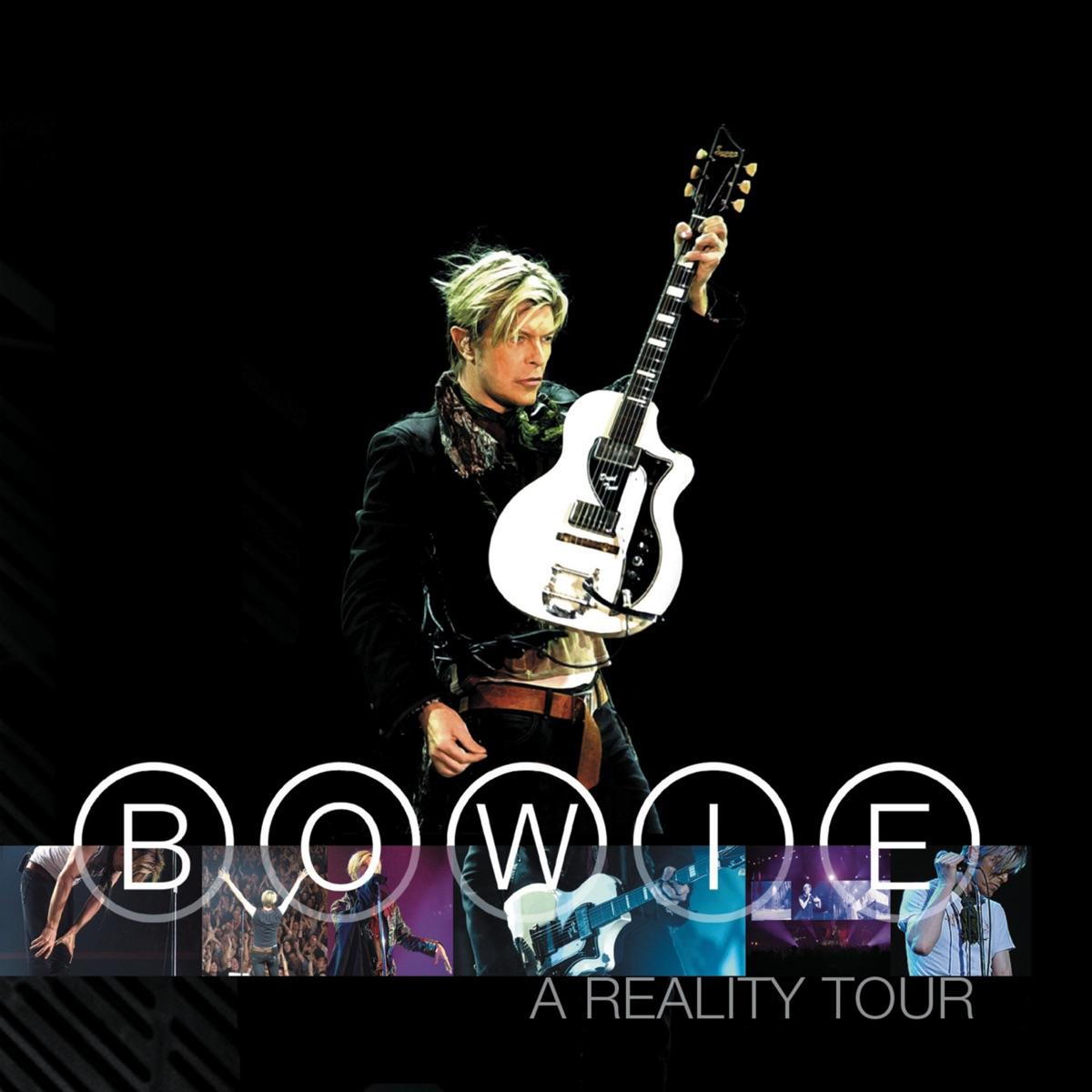 A Reality Tour Bonus Track Version Live David Bowie CD cover