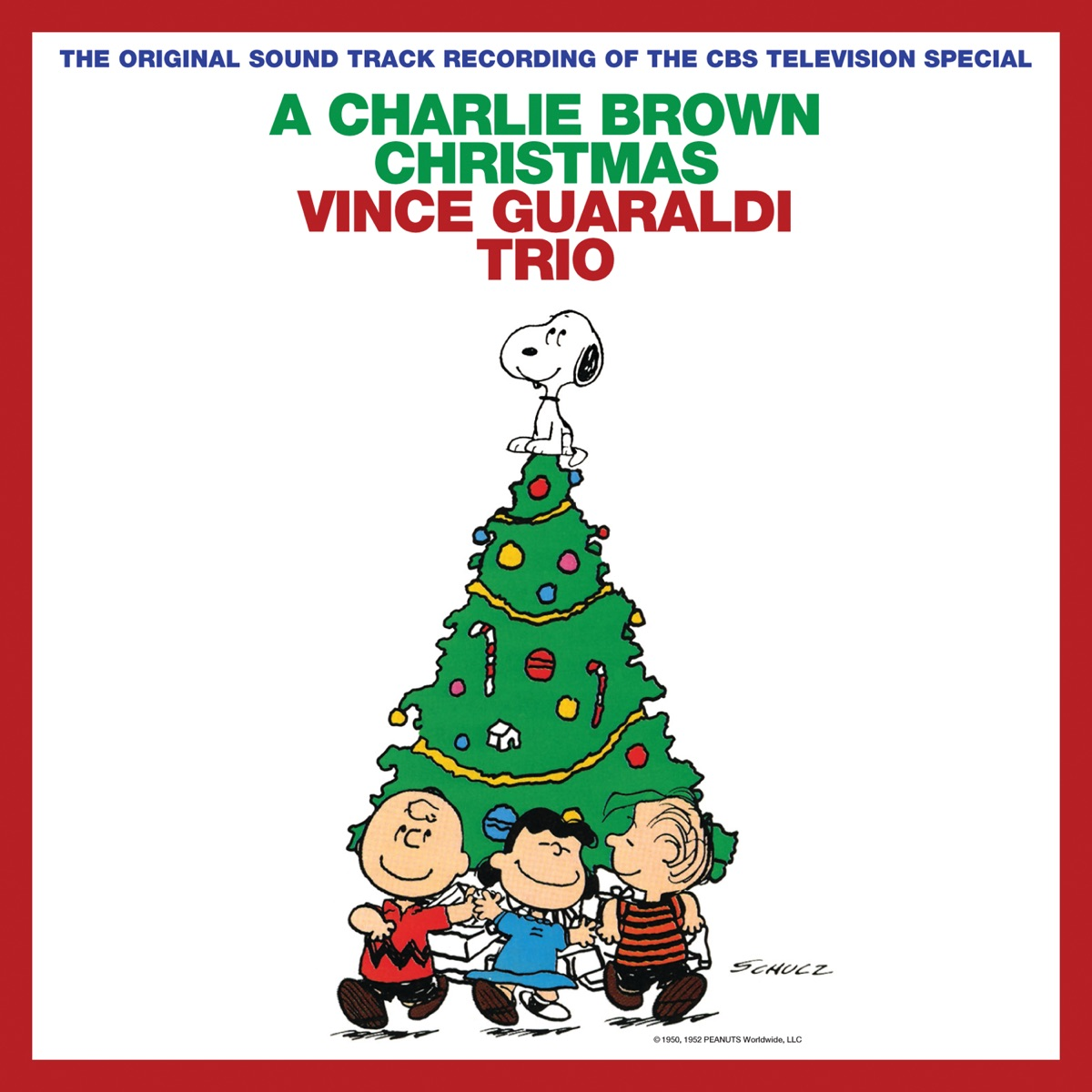 A Charlie Brown Christmas Expanded Edition Vince Guaraldi Trio CD cover