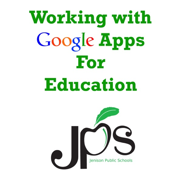 Working with Google Apps for Education