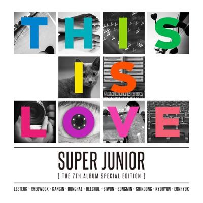 The 7th Album Special Edition 'THIS IS LOVE' - Super Junior