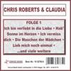 Chris Roberts & Claudia, Folge 1, Chris Roberts & Claudia
