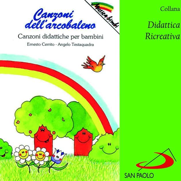 Favori Collana didattica ricreativa: Canzoni dell'arcobaleno (Canzoni  ES12